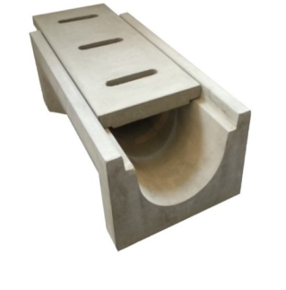 U-Shape Drain & Cover (Small)